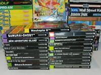 NEC Turbografx 16 TG16 CD Games Complete in Box U Pick & Choose Video Game