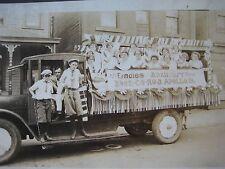 Antique Ladies Auxiliary Fireman's Hose Company #3 Apollo PA Cabinet Card Photo