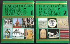 HUGE BOOK Slovak Folk Art Culture Encyclopedia costume history dance SLOVAKIA