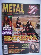 METAL SHOCK #201 - EXTREMA - IRON MAIDEN - DEATH