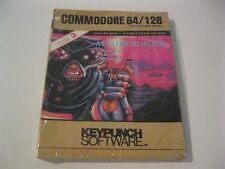 Master Blaster sealed Commodore 64 /128 C64 keypunch software