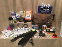 Emergency Survival Kit Gearonics 3 Day Food Water Shelter Fire Tools Cord Tinder