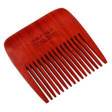 Parker Solid Rosewood Wide Tooth Beard Comb Excellent for Fuller Beards
