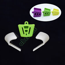 Dental Silicone Mouth Prop Latex Bite Block (Large+Medium+Small) +2 Tongue Guard