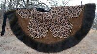 Donna Salyer's Fabulous Fur Large Faux Fur Christmas Tree Skirt Animal print