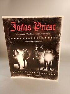 Judas Priest Heavy Metal Painkillers Paperback Book 2007