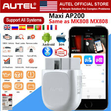 AUTEL Diagnostic Tool OBD2 Scanner All System Code Reader IMMO KEY ABS SRS TPMS