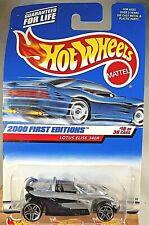 2000 Hot Wheels #75 First Editions 15/36 LOTUS ELISE 340R Silver/Black w/Pr5 Sp
