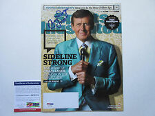 CRAIG SAGER SIGNED SPORTS ILLUSTRATED MAGAZINE PSA/DNA COA AB78755 STRONG TNT