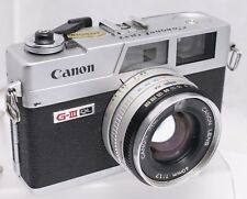 Canon Canonet G-III QL17 35mm Film Rangefinder Camera **Read**