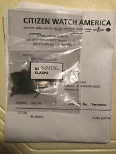 Bk-S04255 Only. Not complete band. Citizen Watch 8612-S068452. Clasp P/N