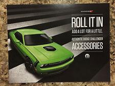 2015 Dodge Challenger Sublime R/T Accessories 2-page Original Sales Brochure