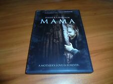 Mama (DVD, Widescreen 2013) Jessica Chastain,Nikolaj Coster-Waldau Used Horror