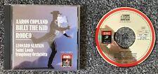 Copland - Billy The Kid - Rodeo - Slatkin - EMI Angel digital CD - CDC-7 47382 2