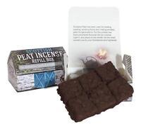 Scottish Turf Peat Incense REFILLS for Ceramic Highland Cottage Burner