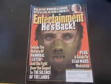 Hannibal Lecter, Robbie Williams - Entertainment Weekly Magazine 1999