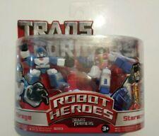 Nuevos Transformers Robot Heroes Mirage y Starscream