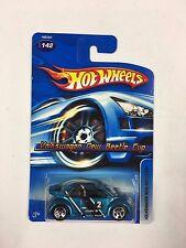 2005 Hot Wheels #142 Volkswagen New Beetle Cup (T17)