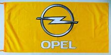 OPEL FLAG YELLOW - SIZE 150x75cm (5x2.5 ft) - BRAND NEW