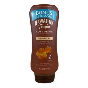 Hawaiian Tropic Tanning Lotion Sunscreen, SPF 4 [10.8 oz.]