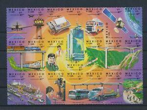 LO40659 Mexico telecommunication transportation good sheet MNH