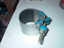 """New listing One Bolt Stainless Steel 2-1/2"""" Pipe Patching Clamp"""