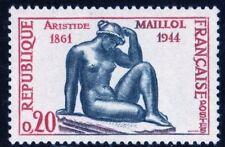 TIMBRE FRANCE NEUF N° 1281 ** SCULTEUR ARISTIDE MAILLOL SANS TRACE DE CHARNIERE