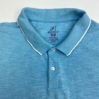 George Polo Shirt Mens XXL Blue Short Sleeve Casual