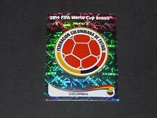 184 ECUSSON BADGE WAPPEN COLOMBIA PANINI FOOTBALL FIFA WORLD CUP 2014 BRASIL