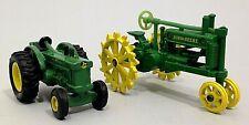 Ertl John Deere Small Tractors-x 2 U.S.A.-Made In China