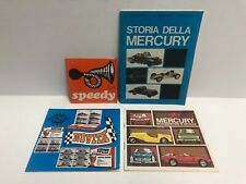 Vintage MERCURY diecast Toy Car Catalogs with Brochure and Book