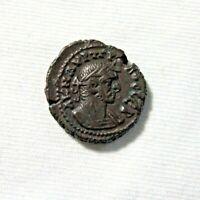 EGYPT, ALEXANDRIA, BILLON TETRADRACHM, PROBUS, 276-282 AD. ATHENA REVERSE YEAR 6