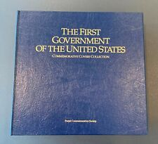 POSTAL COMMEMORATIVE SOCIETY ~ FIRST GOVERNMENT OF THE US ~ 100 FIRST DAY COVERS