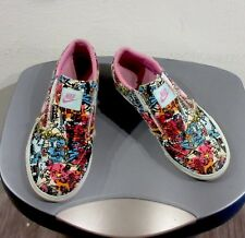 Nike Comic Book Collage Slip-on Sneakers