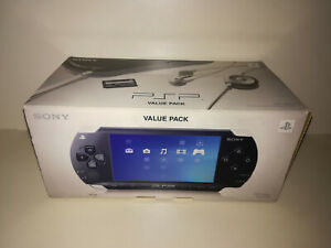 Console Sony PSP 1000K VALUE PACK Completa In Scatola Originale Box