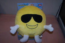 Emojikins Cool Cat Pillow NEW in Box Item #EJ4300 They Talk to You & Each Other