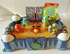 Hasbro Pokemon Thinkchip Battle Stadium w 5 cards&toys CHARIZARD Cleaned/Tested!