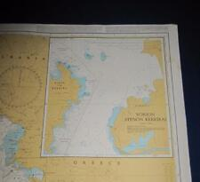Admiralty Charts Map #206 Nisos Kerkira and Approaches, 1996 ed.