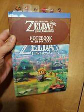 The Legend Of Zelda Links Awakening Notebook With Dividers Culturefly New Read