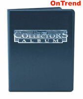 Ultra Pro 9 Pocket Blue Collectors Album Portfolio Folder 10 Pages 180 Cards