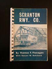Scranton Railway Trolley Traction Book