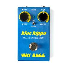 Used Dunlop Way Huge Smalls WM61 Mini Blue Hippo Analog Chorus!