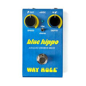 Used Dunlop Way Huge Smalls WM61 Mini Blue Hippo Analog Chorus