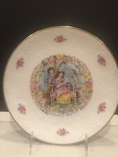 Collectible Royal Doulton England Valentine'S Day Plate 1978