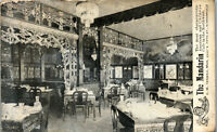 the Mandarin Restaurant 5th Street Minneapolis MN 1907  Vintage Postcard AA1