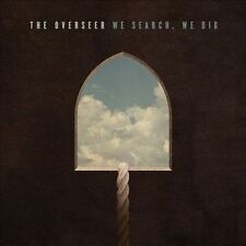 The Overseer-We Search, We Dig CD Christian Metal (Brand New Factory Sealed)