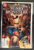 JLA Aterrador Monsters #2 NM- 1 º Dibujo DC Comics