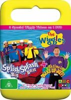 THE WIGGLES: Splish Splash Big Red Boat+Wake Up Jeff (DVD PAL Region 4 ABC 2006)