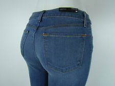New J BRAND 620 SUPER SKINNY Mid Rise Jeans Woman SZ 29 IN LUCAS MEDIUM BLUE