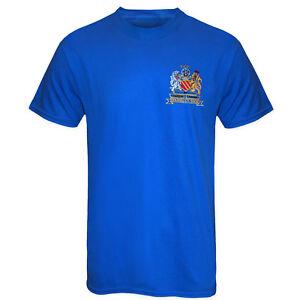 Football Legends T-Shirt Best & Charlton in Manchester United 1968 Retro Kit